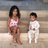 Sisterly Love! Kim Kardashian Shares Cute New Photo of Daughters Chicago and North: 'My Girls'