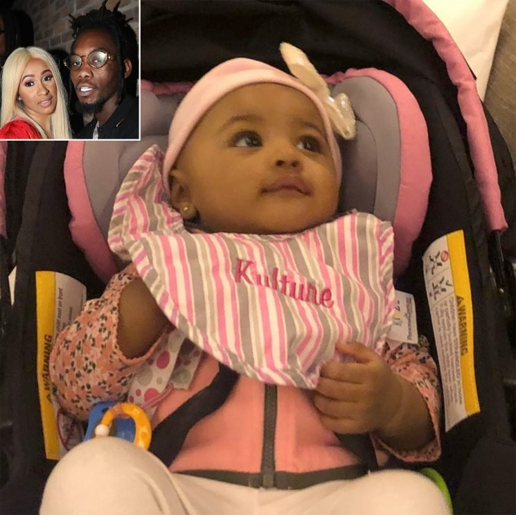Cardi B's Baby Kulture Can't Stop Saying 'Mama' as Dad Offset Tries to Get Her to Say 'Papa'