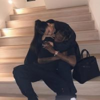 Kylie Jenner Teases 'Baby #2' with Sweet Photo of Her Arms Wrapped Around Travis Scott