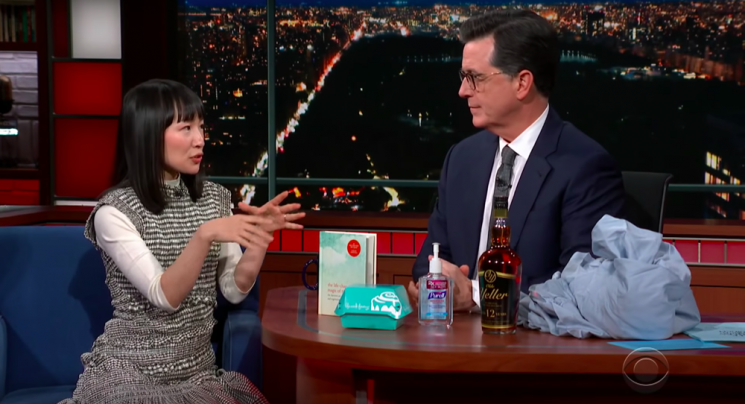 Marie Kondo on The Late Show: 'We all have clutter in our hearts'