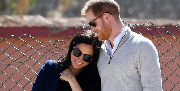 Every Photo of Meghan Markle & Prince Harry's Adorable PDA in Morocco