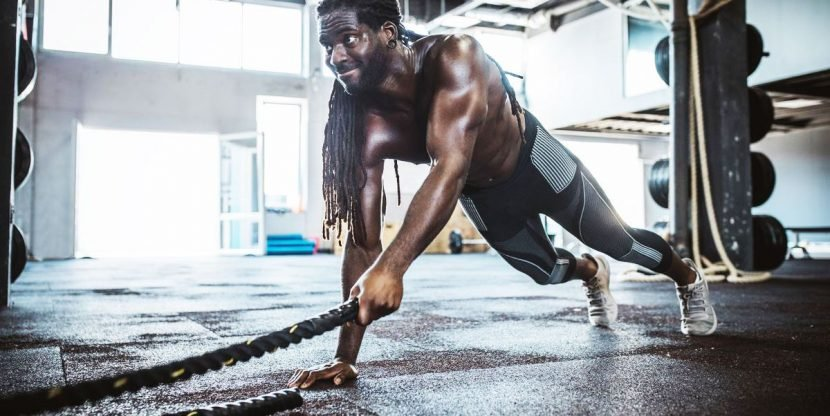 Blast Your Abs With This 10-Minute Battle Rope Burner