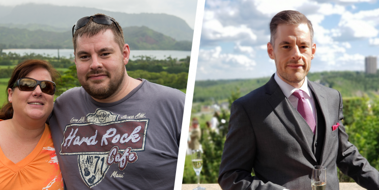 A Simple Diet Change Helped This Guy Lose 125 Pounds