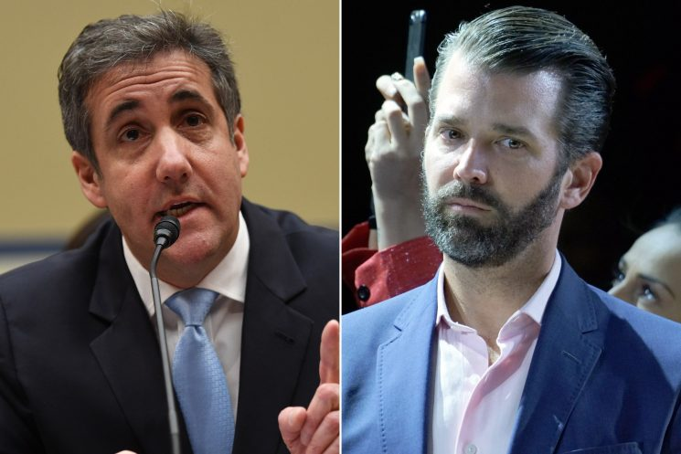 Trump Jr. goes on Twitter rampage against Michael Cohen