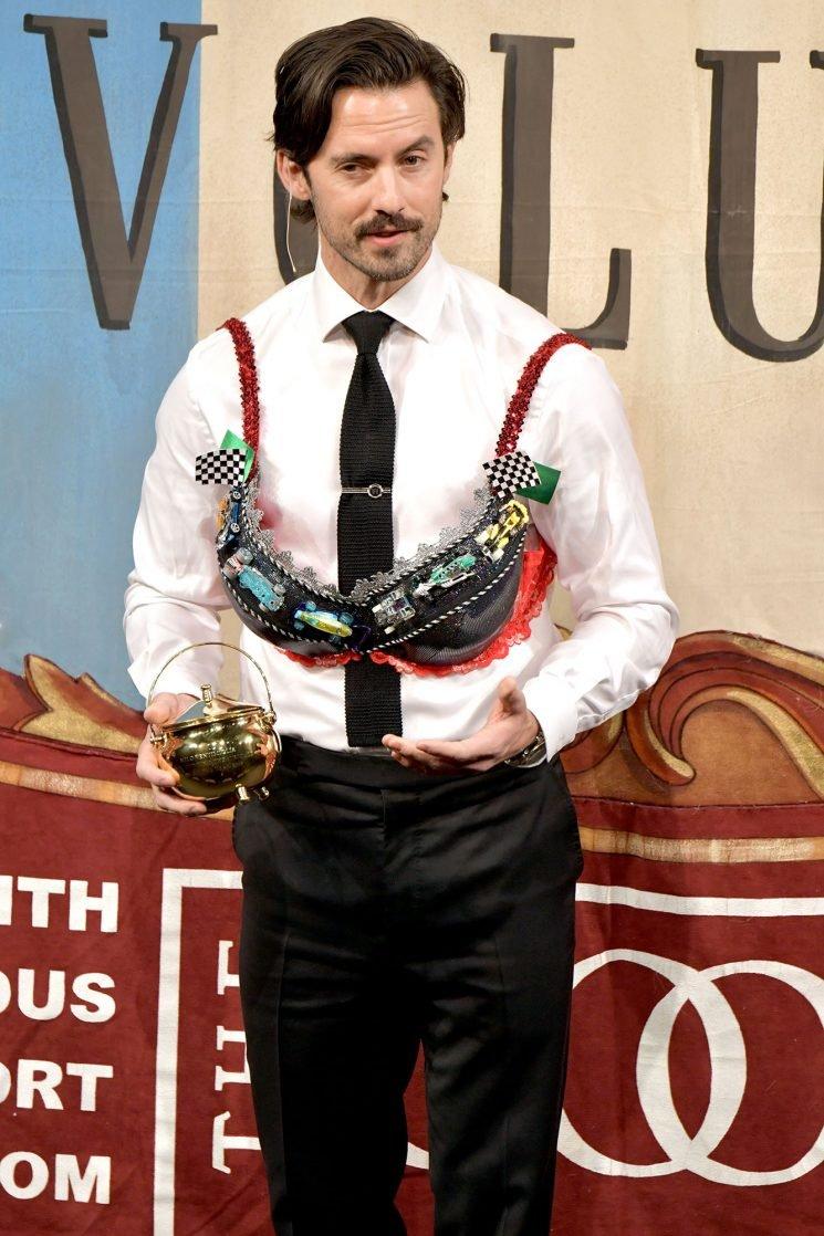 Milo Ventimiglia Wows Harvard in a Bra, Plus Katy Perry, Maggie Gyllenhaal & More