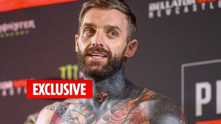 Aaron Chalmers weighs in for Bellator Newcastle clash against American Corey Browning