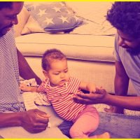 In Today's ~News,~ Study Proves Dads Are Happier Than Moms