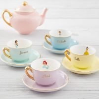 Your Kids Can Host the Prettiest Tea Party Ever with Pottery Barn's New Disney Princess Tea Set