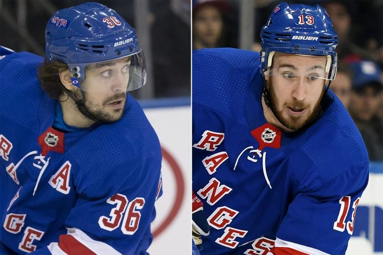 Rangers putting their biggest trade-deadline chips at ease