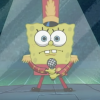 Here's Why SpongeBob SquarePants Had a Brief Appearance in the Super Bowl Halftime Show