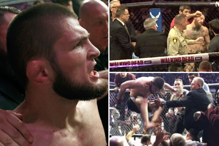 Khabib hits out at ban for UFC 229 brawl with McGregor when 'Nevada allows drugs and prostitution'