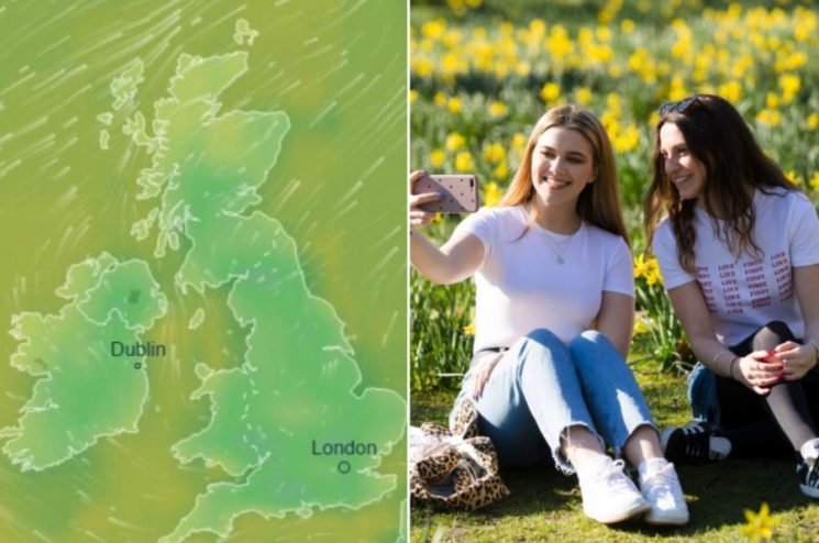 UK weather – Brits to bask in highs of 19C today as spring-like conditions continue after hottest February day EVER
