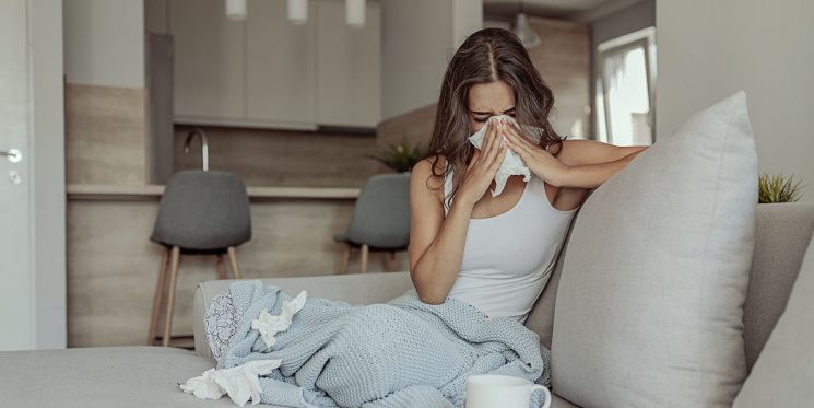 Your Dry Cough Might Not Necessarily Be Caused By A Cold