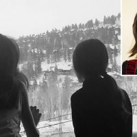 Katie Holmes Shares Sweet Photo of Daughter Suri Cruise Taking in a Snowy Mountain View