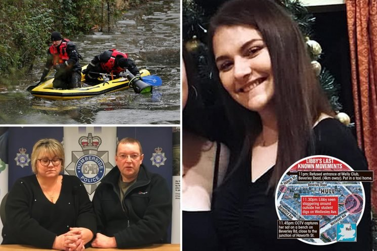 Neighbour of missing student Libby Squire, 21, heard 'blood-curdling screams' and a gate slam the night she vanished