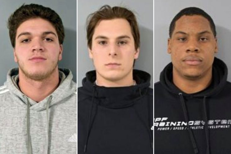 College football players arrested after 'The Purge' brawl