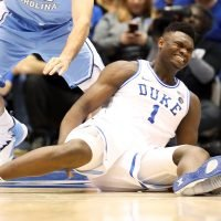 Nike Gets Roasted as Duke Star Zion Williamson Is Injured When Shoe Rips Apart Seconds into Game