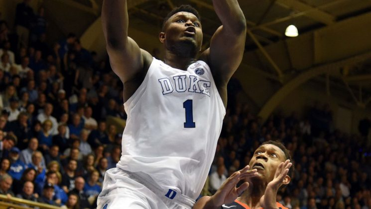 Zion Williamson forging new kind of legend at Duke as NBA teams salivate
