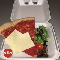 Villa Italian Kitchen trolls Fyre Festival with $25 pizza slice