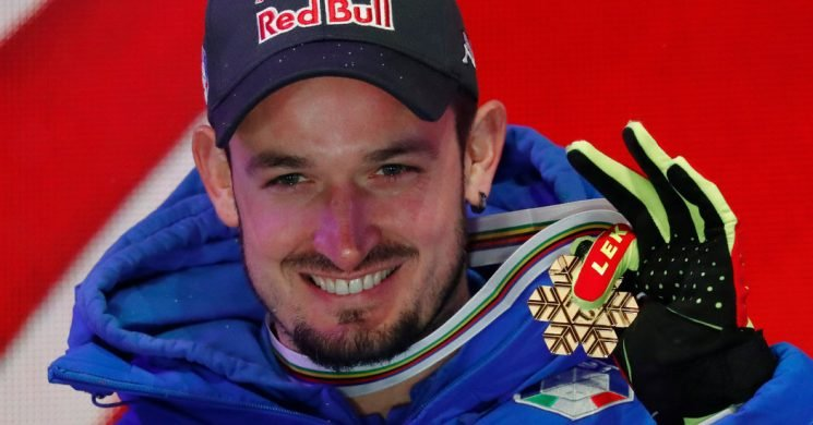 Dominik Paris, Death-Metal Musician, Wins Super-G at World Ski Championships