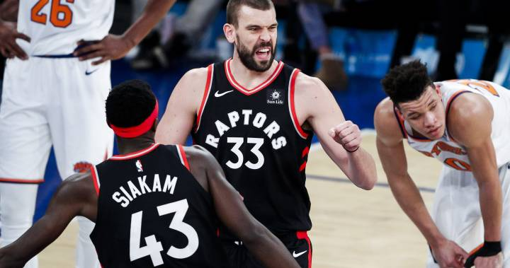 Toronto Raptors welcome Marc Gasol and send New York Knicks to 16th loss in row