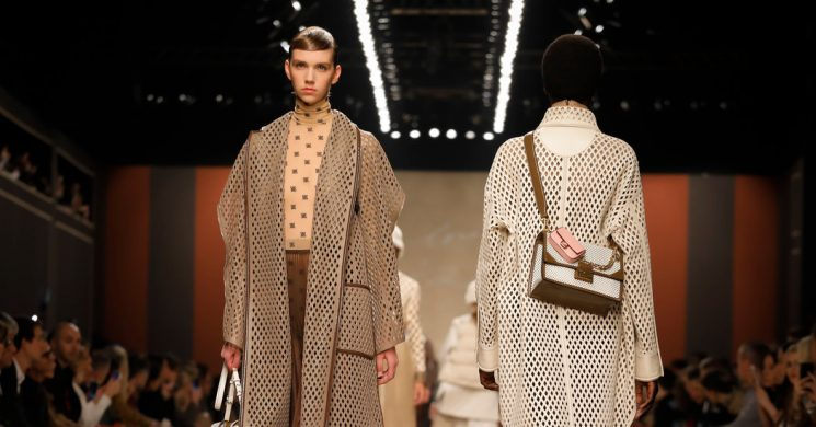 At Fendi, Raising the Bar in Farewell