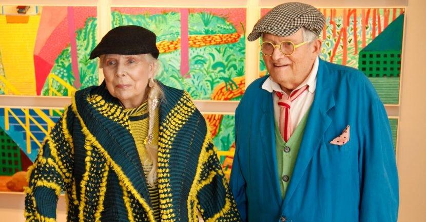 Of David Hockney and Joni Mitchell Holding Hands