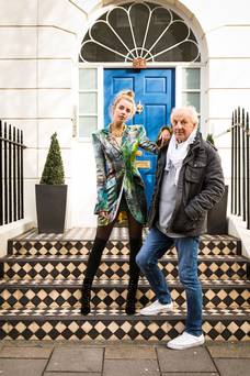 Bairbre Power: Paul Costelloe reveals collection ahead of London Fashion week show