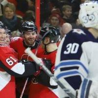 Stone scores twice against hometown team, Senators topple Jets 5-2