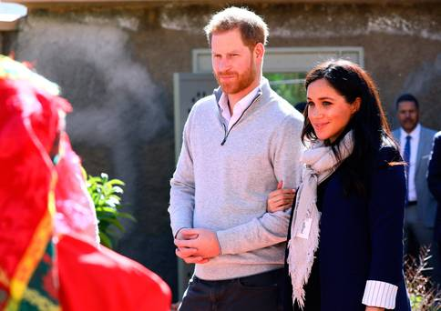 Meghan Markle keeps it casual in jeans and her favourite flats as she and Harry kick off jam-packed Morocco tour