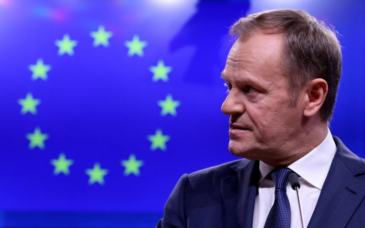 EU's Tusk sees no Brexit breakthrough, says talks will continue