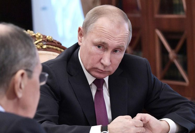 Russia suspends nuclear arms treaty after U.S. says to pull out