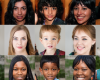 Website uses artificial intelligence to generate realistic human faces from scratch