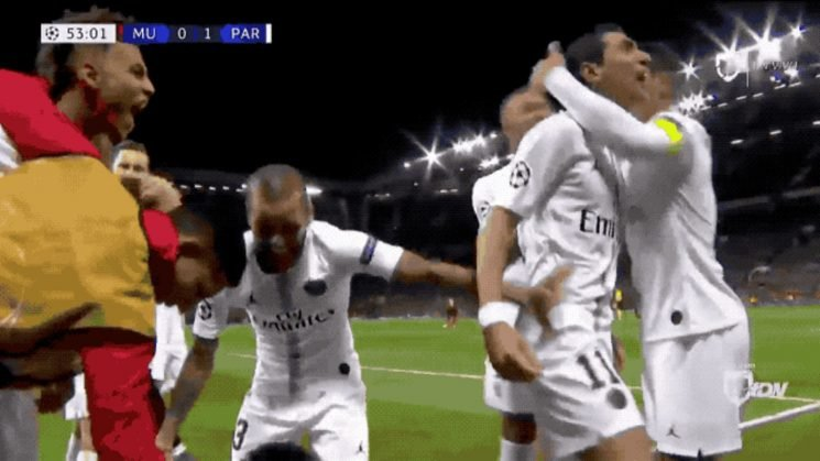 Nobody Enjoyed PSG's Beatdown Of Manchester United More Than Ángel Di María
