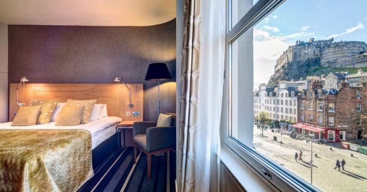 Top cheap hotels in Edinburgh with rooms from £24 a night