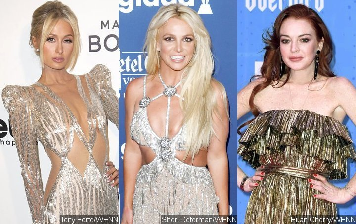 Paris Hilton Brings 'Queen Elizabeth' in Spoof of Britney Spears and Lindsay Lohan's Iconic Moment