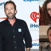Luke Perry's Fiancee, Ex-Wife and Son Bond at Dinner After His Death