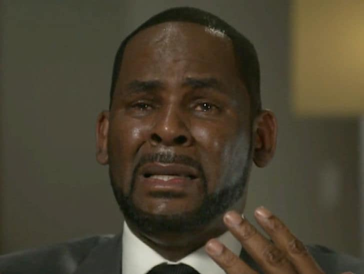 R. Kelly Distraught in Interview, Sobbing, 'I'm Fighting for my F***ing Life!'