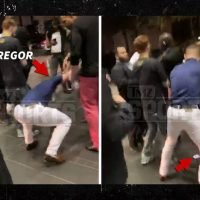 Conor McGregor Phone Stomping Incident Caught On Video