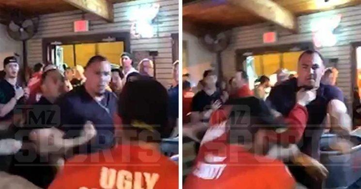 Tyrone Crawford Bar Brawl Video Shows Cowboys Star Wrecking Bouncers