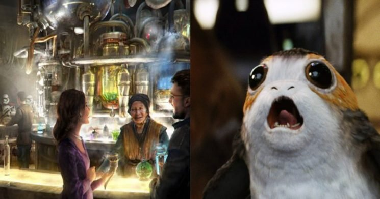 Get Excited For Out-of-This-World Treats at Disneyland's Star Wars: Galaxy Edge Land