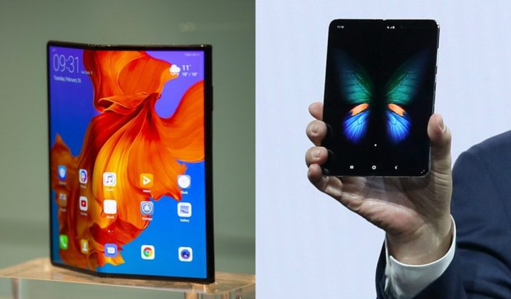 The Samsung Galaxy Fold Vs. Huawei Mate X Highlights The Innovative Phones' Similarities