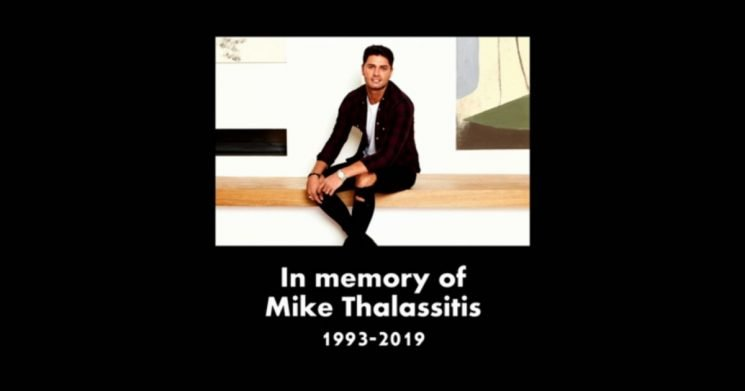 Touching Mike Thalassitis tribute praised by emotional Celebs Go Dating viewers