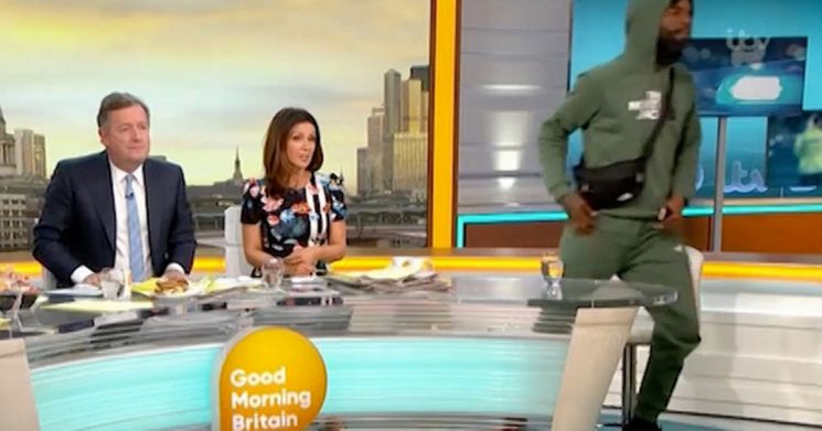Good Morning Britain guest walks off live on air after knife crime interview