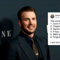 Chris Evans' Viral Chips Ranking Is Something That True Fans Should've Seen Coming