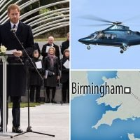 Prince Harry risks environmentalists' wrath by taking helicopter trip