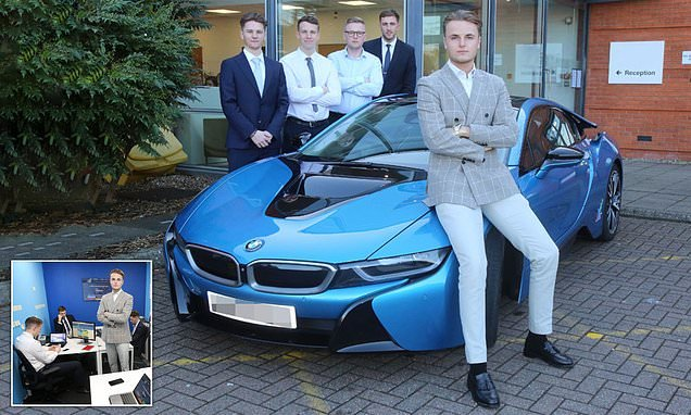 University dropout, 20, has business worth £2million
