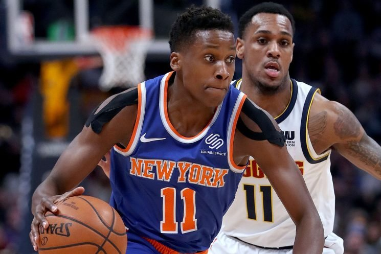 Knicks gets first piece of hope for a Frank Ntilikina return