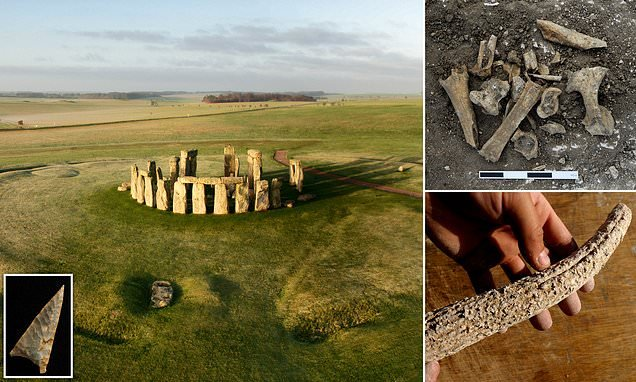 Stonehenge was the site for huge celebrations for prehistoric Britons