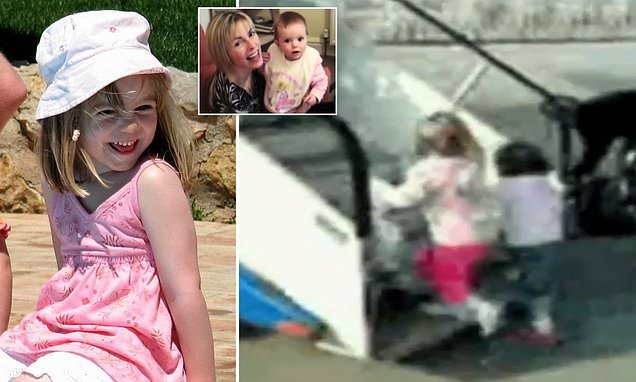 Haunting last footage of Madeleine McCann boarding a plane to Portugal